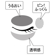 セラムアイズEXは目もとをふっくらさせます