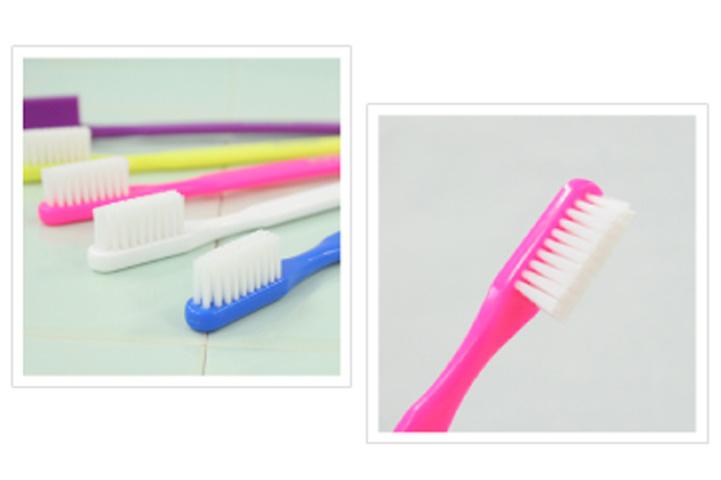 特殊繊維を使用した歯ブラシ PS★nano