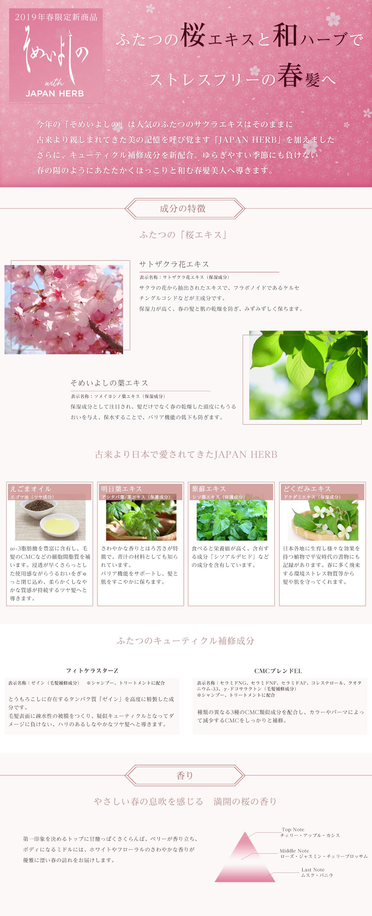 春季限定商品